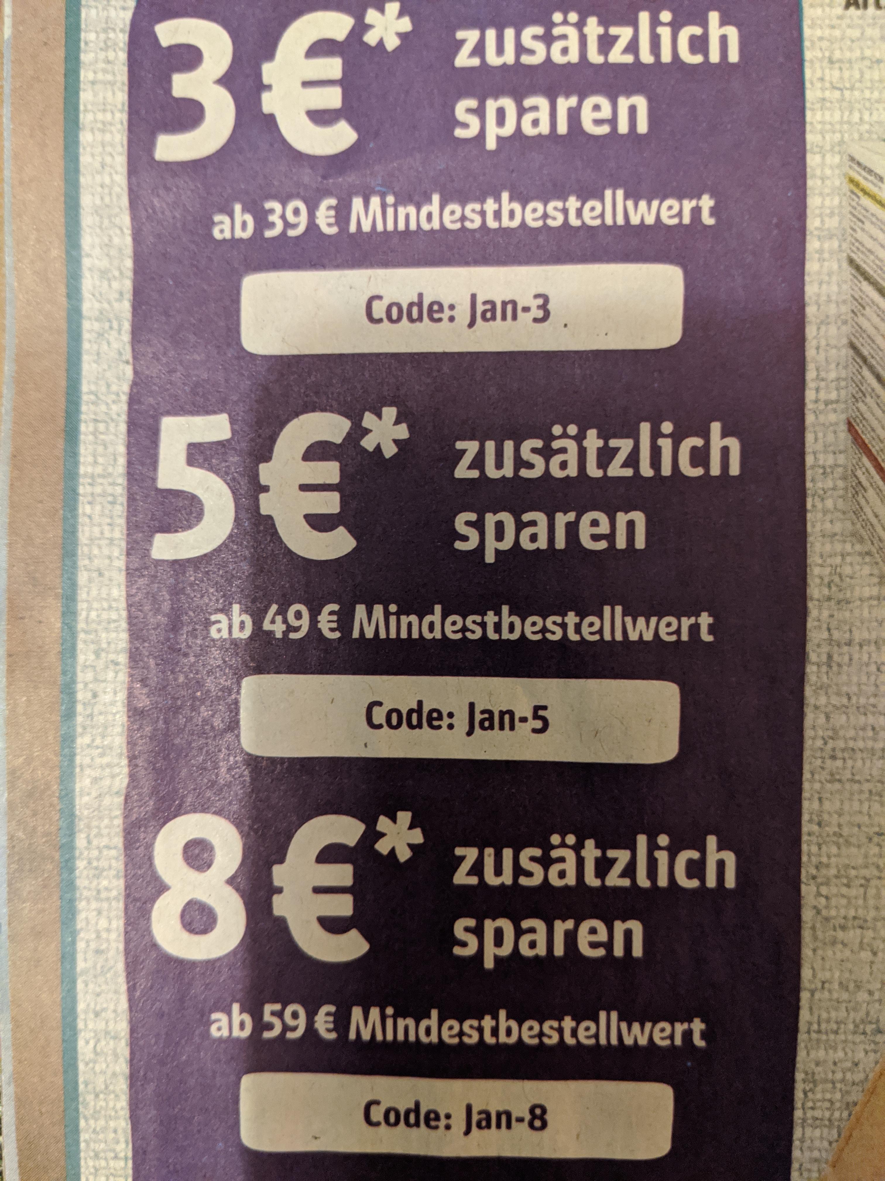 ZooRoyal - 3€, 5€ und 8€ sparen - MBW: 39€, 49€ und 59€