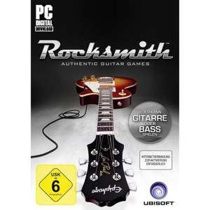 Rocksmith PC-Version OHNE Kabel @ steam-shop für  32,49€