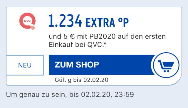 QVC Freebies bis 6,39€ oder 11,39€ für Neukunden durch Payback Coupon (Gewinn möglich!)
