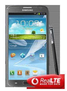 Samsung Galaxy Note 2 LTE für Euro 599,90 bei Vodafone