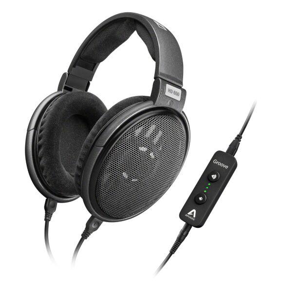 Sennheiser HD 650 + Apogee Groove   oder Sennheiser HD 660 S + Apogee Groove   Spitzenkopfhörer inkl USB-DAC mit Kopfhörerverstärker