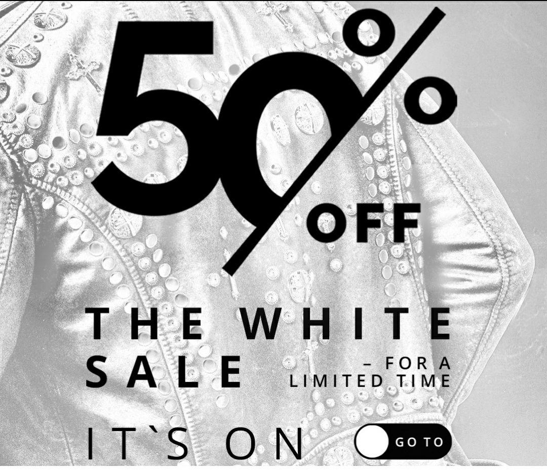 White Sale bei Tigha (50% auf ausgewählte Artikel ohne Code)