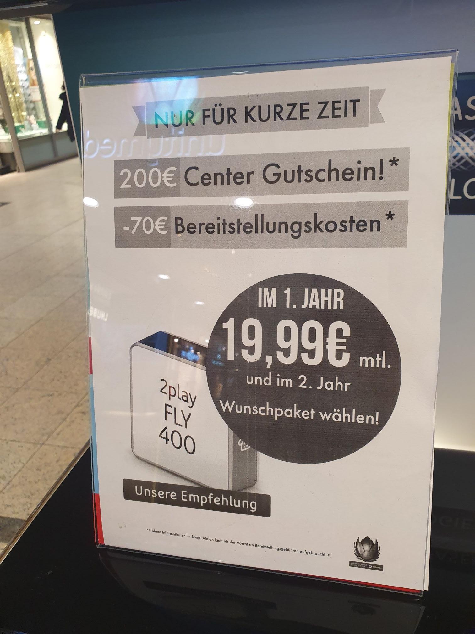 (LOKAL Siegen) Einkaufsgutschein bei Abschluss eines Unitymedia Vertrags