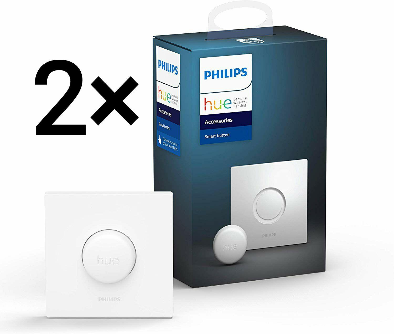 2× Philips Hue Smart Button Lichtschalter (Amazon.es)