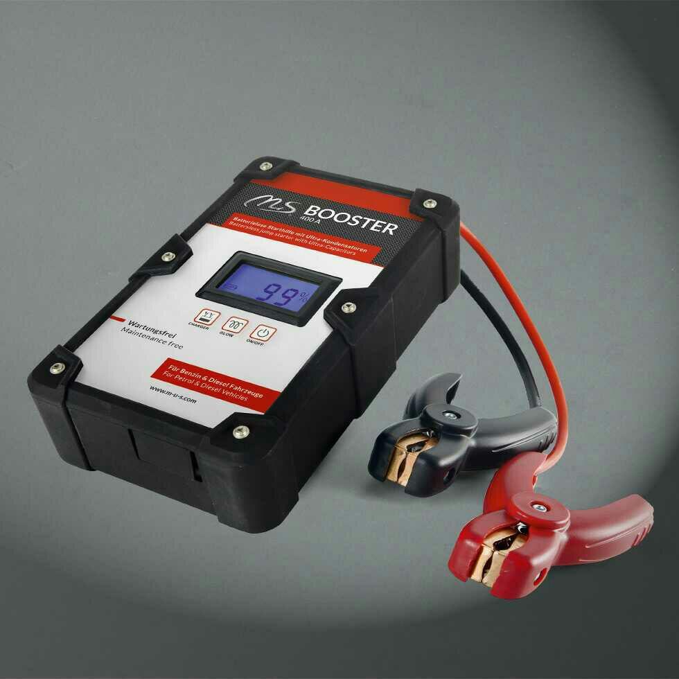 Batterielose Starthilfe M+S Booster 400A