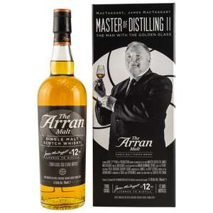 New-Year-Sale bei Whisky-Maniac u.a. Arran 12 The Man With The Golden Glass, Ardbeg 19,