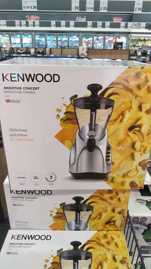 Kenwood Smoothie Concert SB255 [Lokal? Lidl Poing]