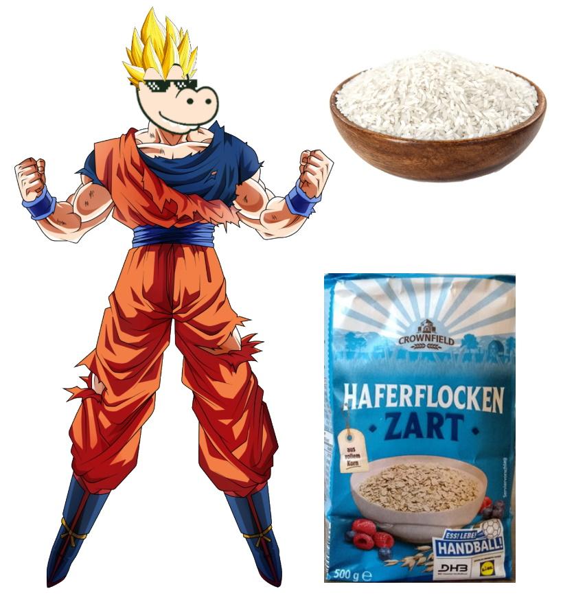 Pumpermarkt [KW2]: z.B. 500g Haferflocken für 0,39€ oder 4,5kg Parboiled Reis für 3,95€ (0,88€/kg) bei Lidl
