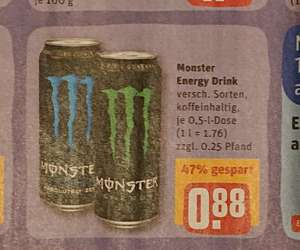 Monster Energy 500 ml Dose [REWE] [06. - 12.01.]