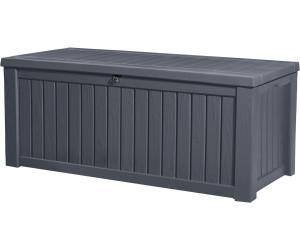 Keter Auflagenbox Rockwood, 570L - Grau - Abholung Toom Baumarkt -Deutschlandweit