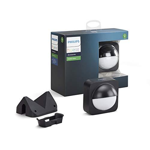 [AMAZON PRIME/YOURHOME.DE] Philips Hue Bewegungssensor für den Aussenbereich, integrierter Tageslichtsensor, schwarz