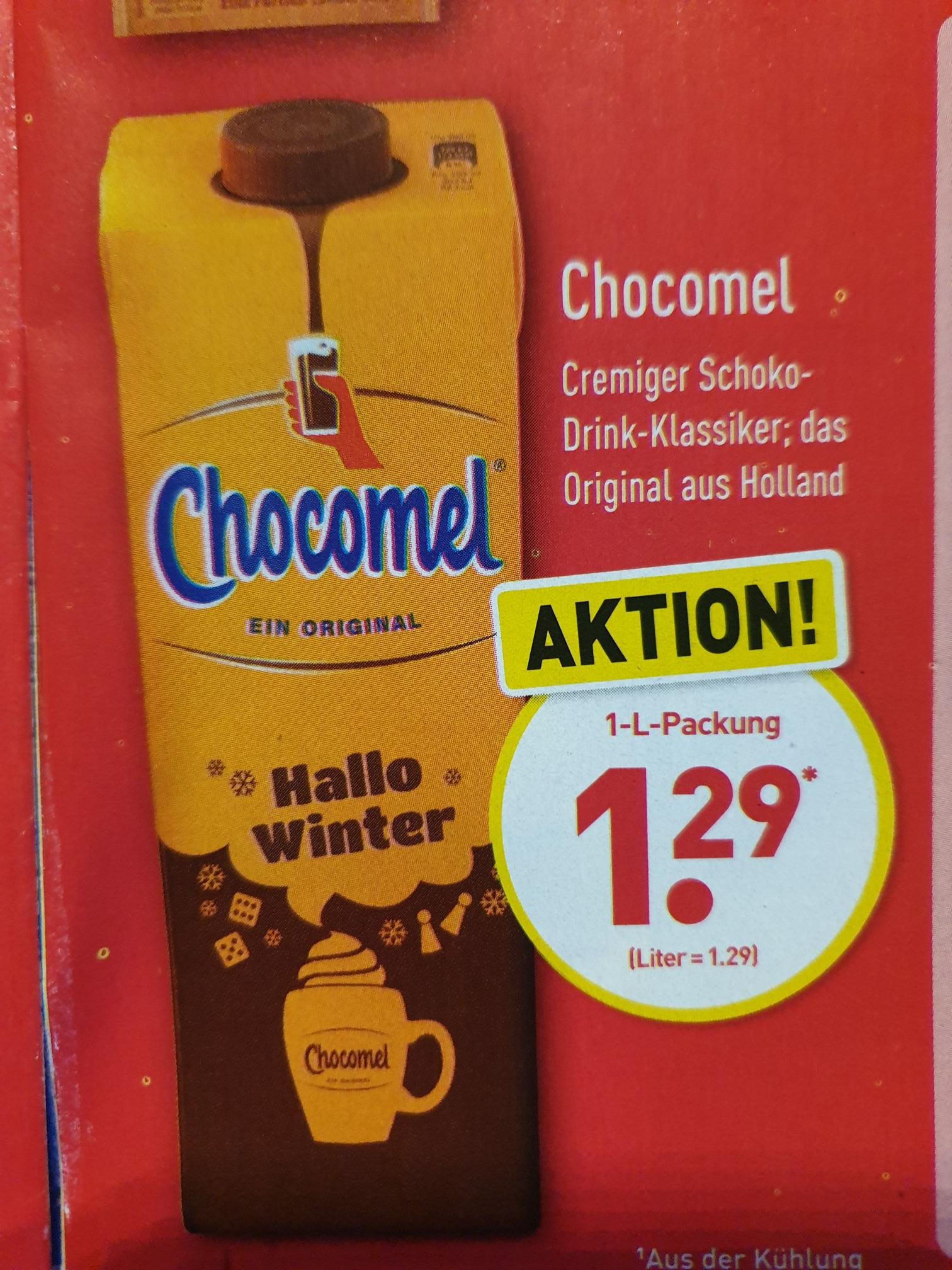 Chocomel Das Original aus Holland Freitag und Samstag bei Aldi-Nord