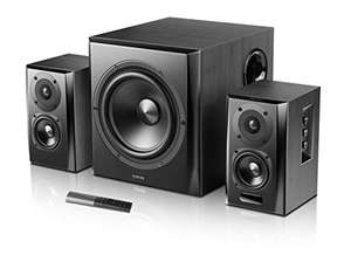 Aktivboxen Edifier S351DB (150W, inkl. Subwoofer, Bluetooth 5.0 mit aptX, optisch, koaxial, Klinke, Fernbedienung)