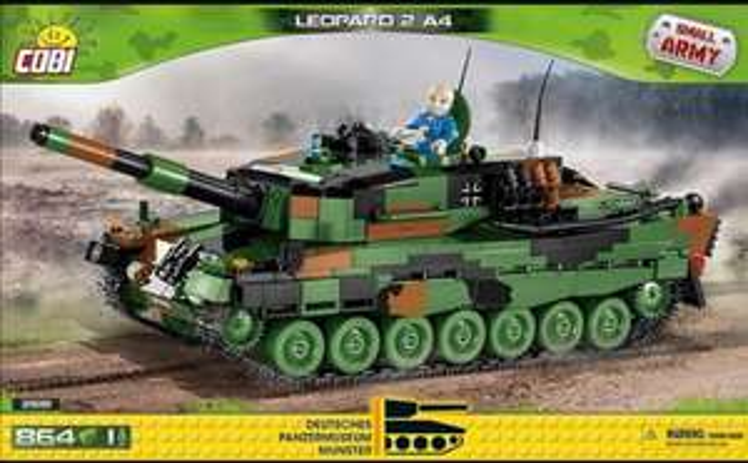 Blue Brixx 10 Euro Neukundenrabatt zb. Cobi Leopard 2 Panzer für 34,90