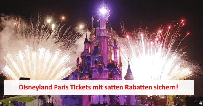 Disneyland Paris Rabatt: Tickets ab 50,40€ statt 87€