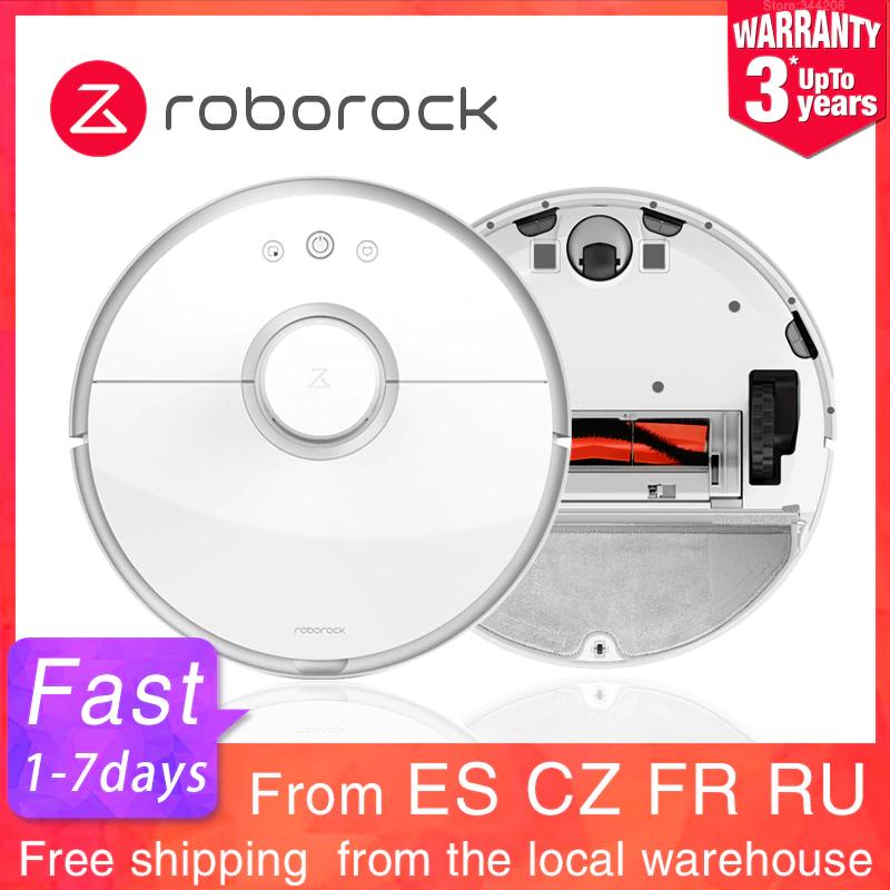 Roborock S50/S55(weiß/schwarz) Saug-Wischroboter Versand aus Tschechienoder Frankreich