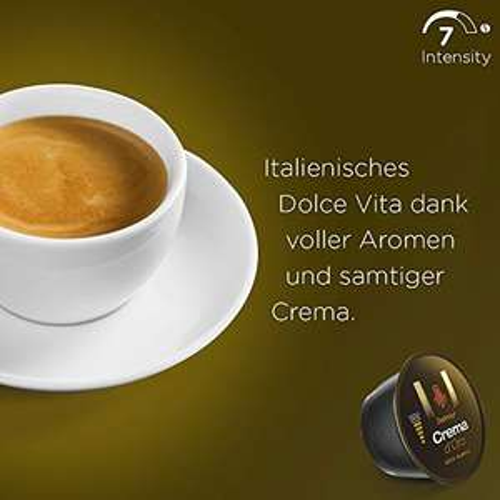 NESCAFÉ Dolce Gusto Dallmayr Crema d'Oro | 48 Kaffeekapseln | 100% Arabica-Bohnen | 3er Pack (3 x 16 Kapseln)