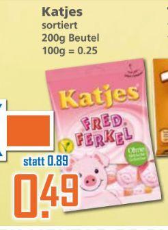 [K&K] Katjes Fruchtgummi / Lakritz 175-200g Beutel