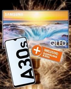 Samsung GQ-55 Q 85 RGT 1338,90 inkl Versand + Galaxy A 30s Gratis