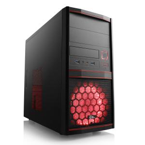 Einsteiger Gaming PC mit AMD Ryzen 3 2300X, 8GB RAM, Radeon™ RX 570 8GB, 240GB SSD, Borderlands 3, 3 Monate Xbox Game Pass für 384€ (CSL)