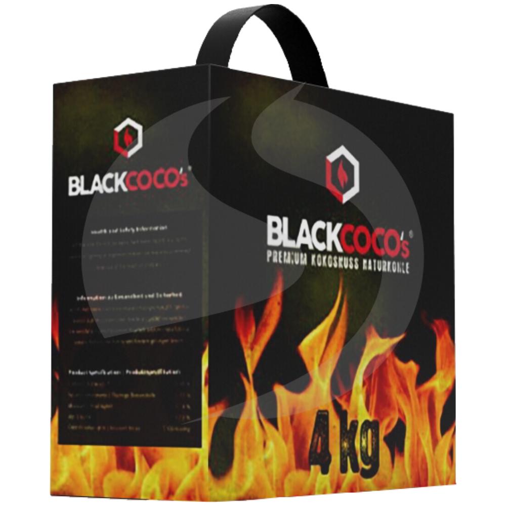 Black Coco Shisha Kohle 4KG für 11,90 (2,98 Euro/kg) + ggf 4,90 Euro Versand