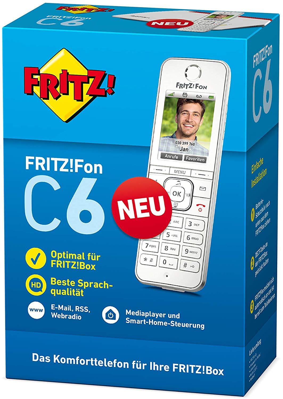 AVM FritzFon C6 DECT-Telefon für 50€ - Notebooksbilliger [MasterCard]