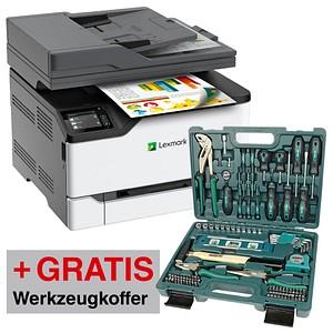 Lexmark MC3326adwe Multifunktionsdrucker + Werkszeugkoffer + Gutschein 40 Euro. + Shoop 5% (alles nicht im Preis eingerechnet)