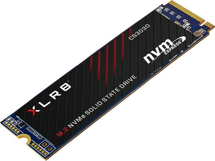 PNY XLR8 CS3030 1TB Gaming SSD M.2 NVMe, PCIe 3.0 x4 (Lesen: 3.500 MB/s Schreiben: 3.000 MB/s)