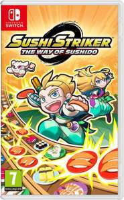 Sushi Striker: The Way of Sushido(Nintendo Switch) [Amazon.fr]