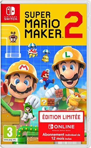 Super Mario Maker 2 Limited Edition inkl. 12 Monate Nintendo Online (Nintendo Switch) für 46,08€ (Amazon.fr)
