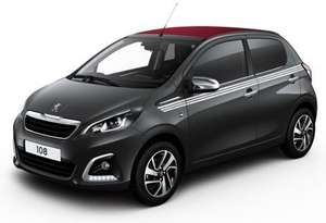 [ Privatleasing ] Peugeot 108 Top Collection Cabrio inkl. Full Service, ab 69 €/ Monat, LF 0,4, GLF 0,64