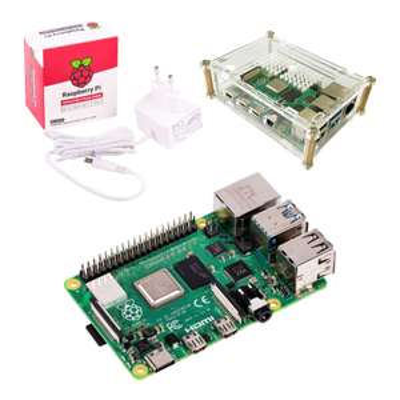 [Mastercard] Raspberry Pi 4 Model B 4GB Starter Bundle (mit Netzteil und Case)