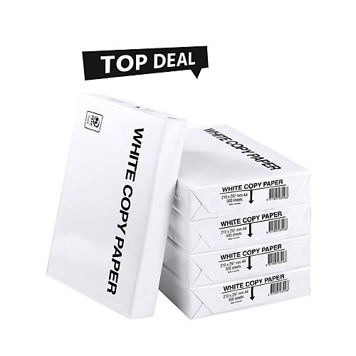 20 Packungen Kopierpapier 80g 500 Blatt (€2,31/Packung)