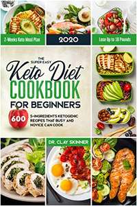 [Amazon Kindle eBook] The Super Easy Keto Diet Cookbook for Beginners, Sprache: Englisch, Ketogene Diät