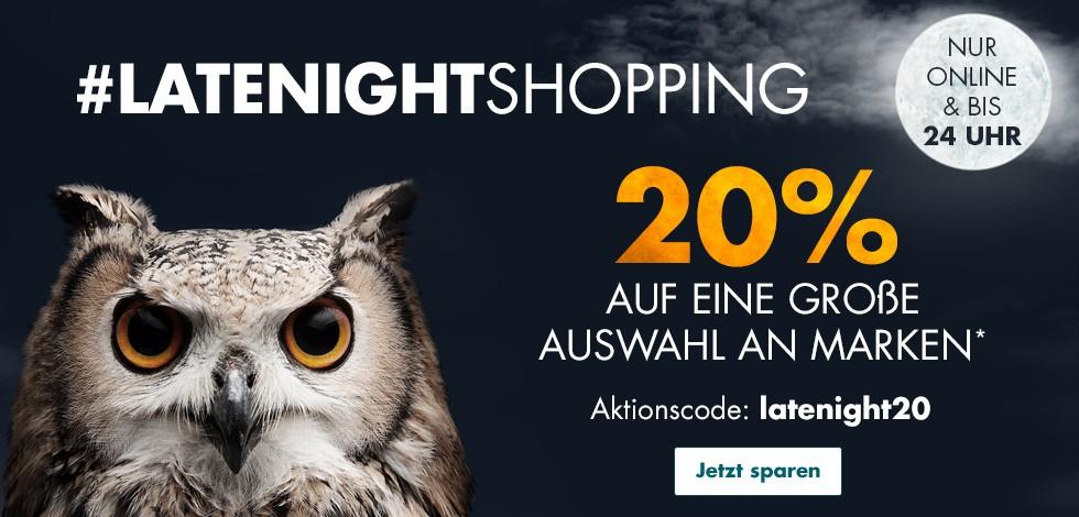 """GALERIA Karstadt Kaufhof 20% auf eine große Auswahl an Marken """"latenight20"""""""