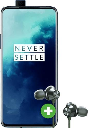 [Telekom Young] OnePlus 7T Pro [256 GB] + OnePlus Bullets 2 Wireless (99€) mit Telekom 24 GB Volumen, StreamOn [Ohne Magenta Eins +120€]