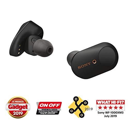 Sony WF-1000XM3 True Wireless Noise Cancelling Kopfhörer (NFC, voll kabellos, Ladeetui) in schwarz
