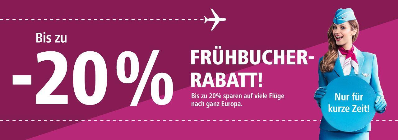 20% bei Eurowings