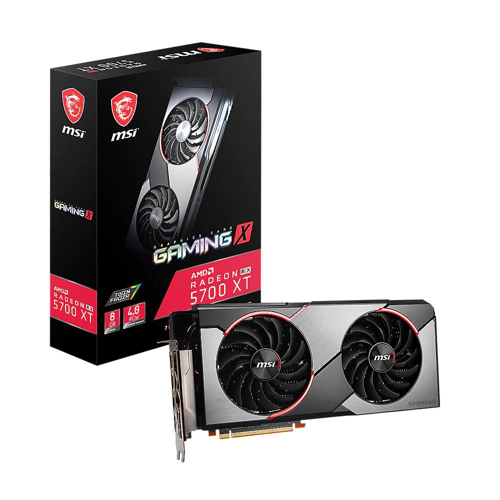 Cyberport: MSI AMD Radeon RX 5700 XT Gaming X OC 8GB Grafikkarte