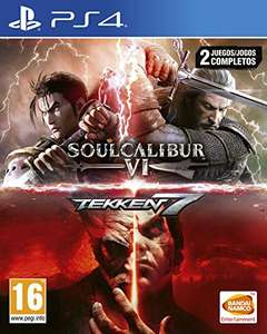 SoulCalibur VI + Tekken 7 (PS4) für 26,86€ (Amazon ES)