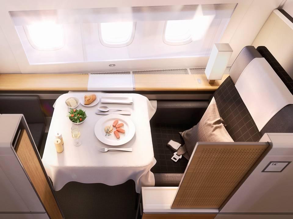 Business Class / First Class Flüge mit Lufthansa / Swiss ab 850 / 1280 Euro von Kiew nach Asien und Afrika und zurück