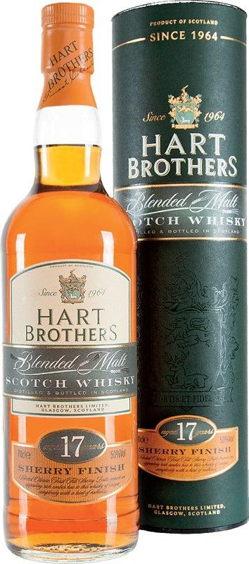 Hart Brothers 17 Jahre Sherry Finish 0,7l 50%. Blended Malt Scotch Whisky