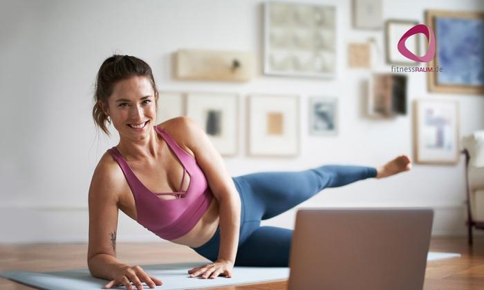 12 Monate Mitgliedschaft im Online-Fitness-Studio fitnessRAUM.de (3,87€/Monat, über 1000 Kurse aus 20 Sportarten, endet automatisch)