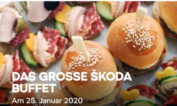 Gratis SKODA Buffet 2020 am 25.Januar