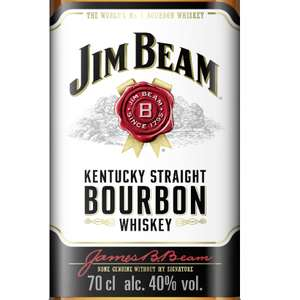 Jim Beam Bourbon Whiskey 9,95€