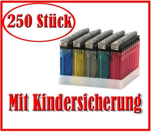 250 Feuerzeuge inkl. Versand für 29€ @ Ebay