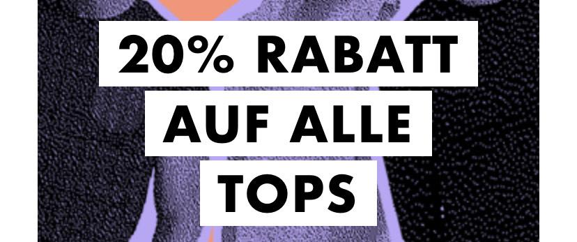 [ASOS] 20% auf alle Tops