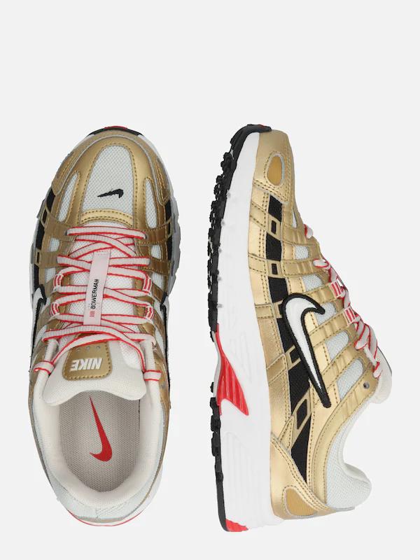 Nike Sportswear Sneaker 'Nike P-6000' in beige / gold