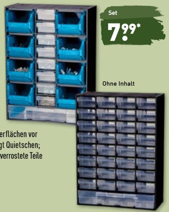 [Aldi Nord + Süd] Kleinteile-Magazine 17 oder 33-teilig