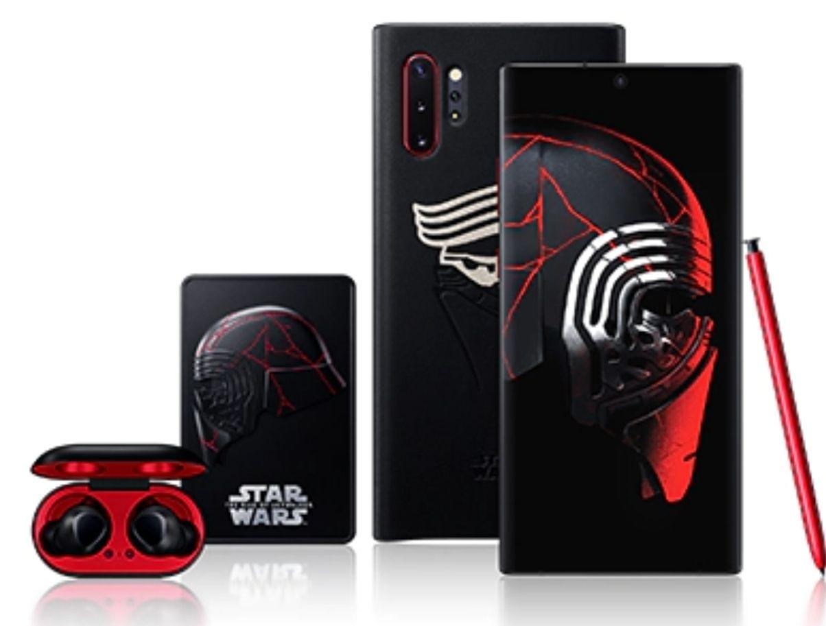 [O2 DSL Kombivorteil] Samsung Galaxy Note 10+ Star Wars (+Buds, Cover) im O2 Free L (30GB LTE) mtl. 29,99€ einm. 149€ [ohne KV 1.148,75€]